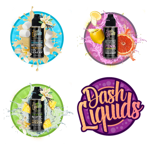 Dash Liquids Signature Collection - Triple - Komplette Serie zum Einführungspreis!