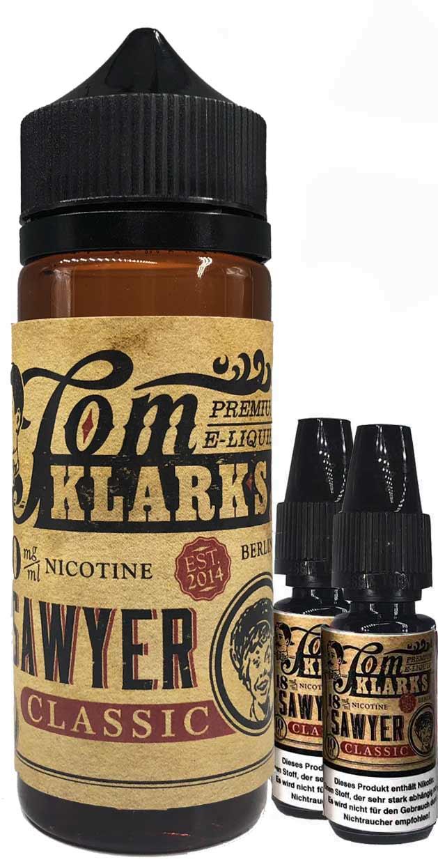 TOM KLARK Classic Premium Liquid 120ml 3mg