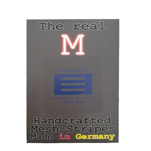 1 x 4 Stück THE REAL M Aromamizer SS316 MESH 400 Coil Wickeldraht