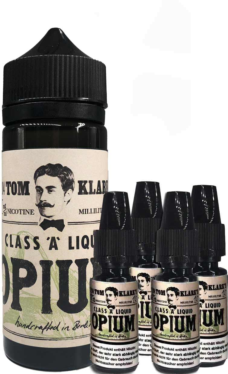 TOM KLARK Opium Premium Liquid 120ml 6mg