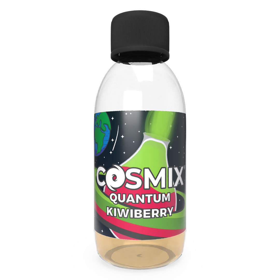 BOTTLE SHOT COSMIX Quantum Kiwiberry by DarkStar 250ml