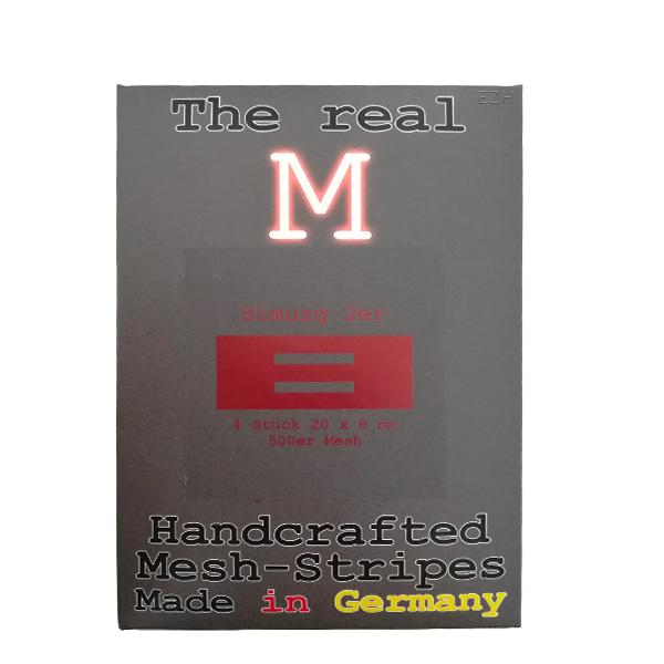 1 x 4 Stück THE REAL M Simurg 2er SS316 MESH 500 Coil Wickeldraht