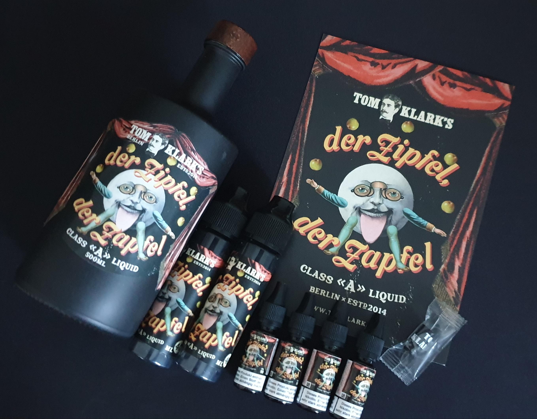 TOM KLARK Der Zipfel Der Zapfel *Special* 6mg - 120ml inkl. Design Glasflasche