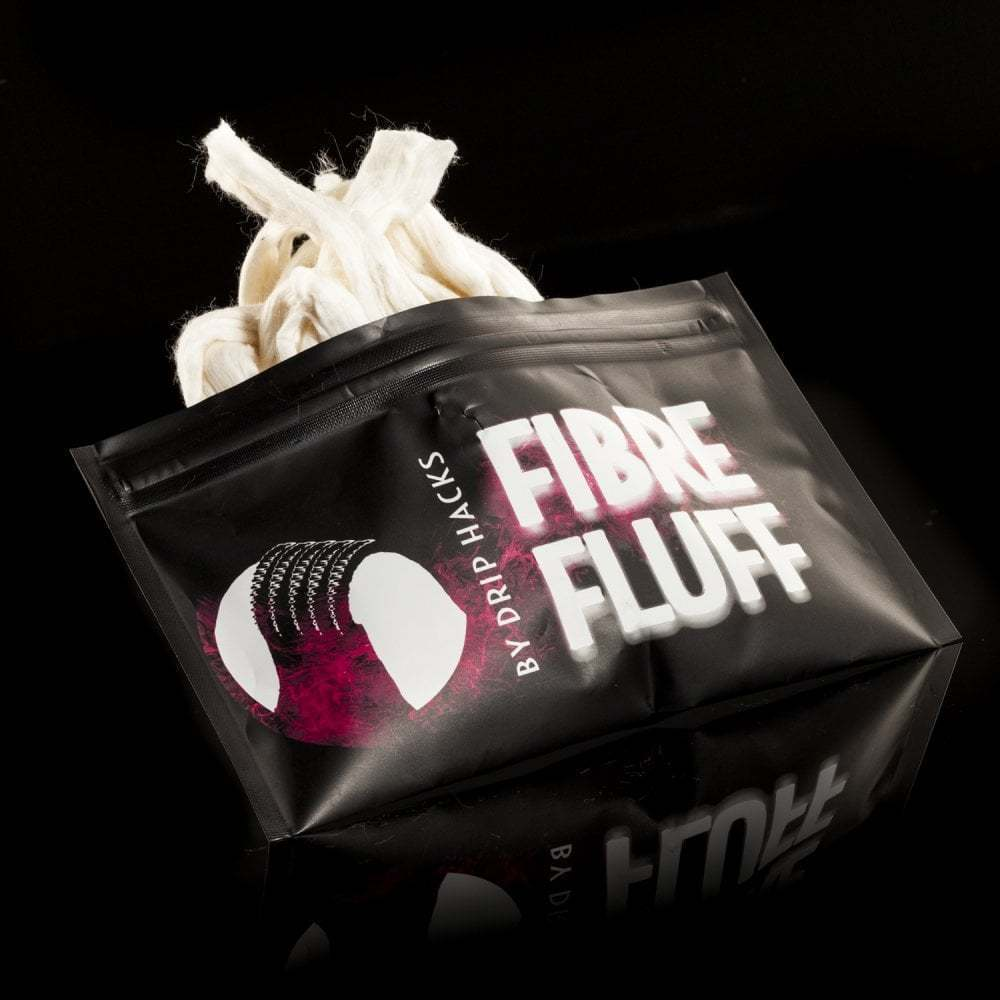 Drip Hacks Fibre Fluff - Original Drip Hacks Watte (Cotton)