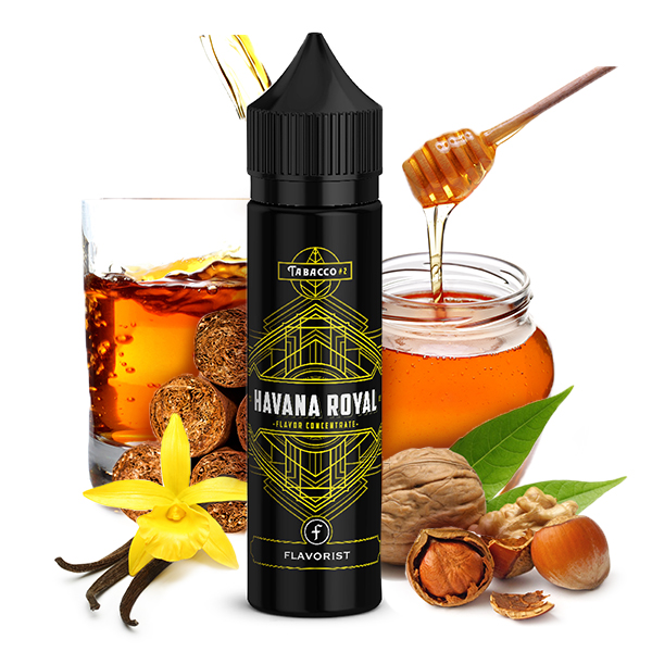 Flavorist Tabak Royal Havana Aroma 15ml Longfill