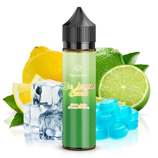 Dani's E-Juice ICE Lemon Bomb Aroma 10ml