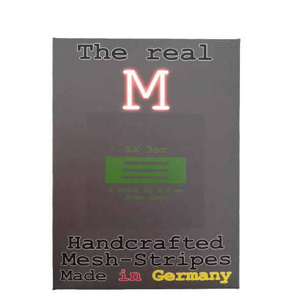 1 x 5 Stück THE REAL M ZX 3er SS316 MESH 300 Coil Wickeldraht
