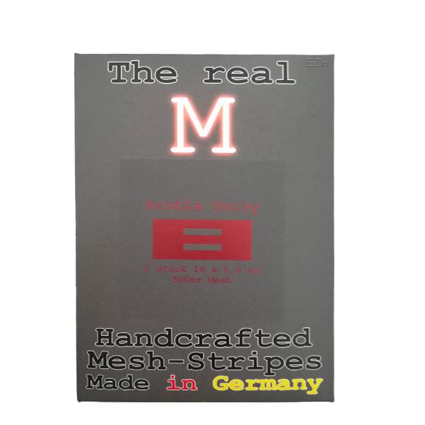 1 x 6 Stück THE REAL M Profile Unity SS316 MESH 500 Coil Wickeldraht
