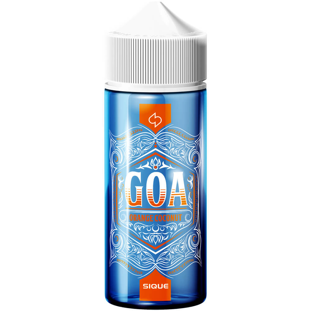 Sique Berlin E-Liquid GOA 100ml 0mg