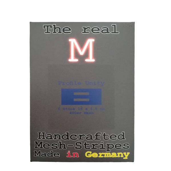 1 x 6 Stück THE REAL M Profile Unity SS316 MESH 400 Coil Wickeldraht