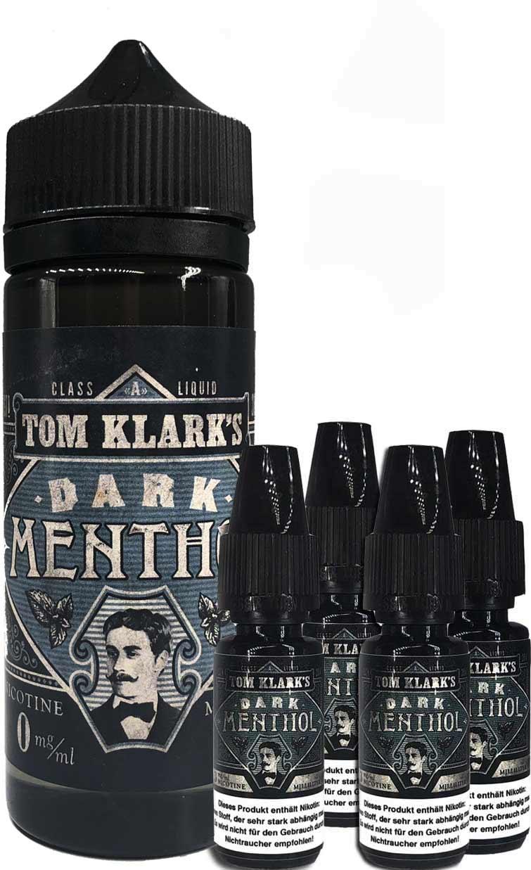 TOM KLARK Dark Menthol Premium Liquid 120ml 6mg