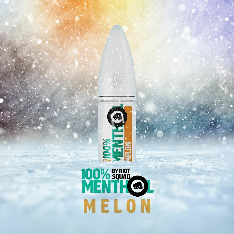 RIOT SALT - 100% Menthol Melon Hybrid Nic Salt 10ml - 5mg