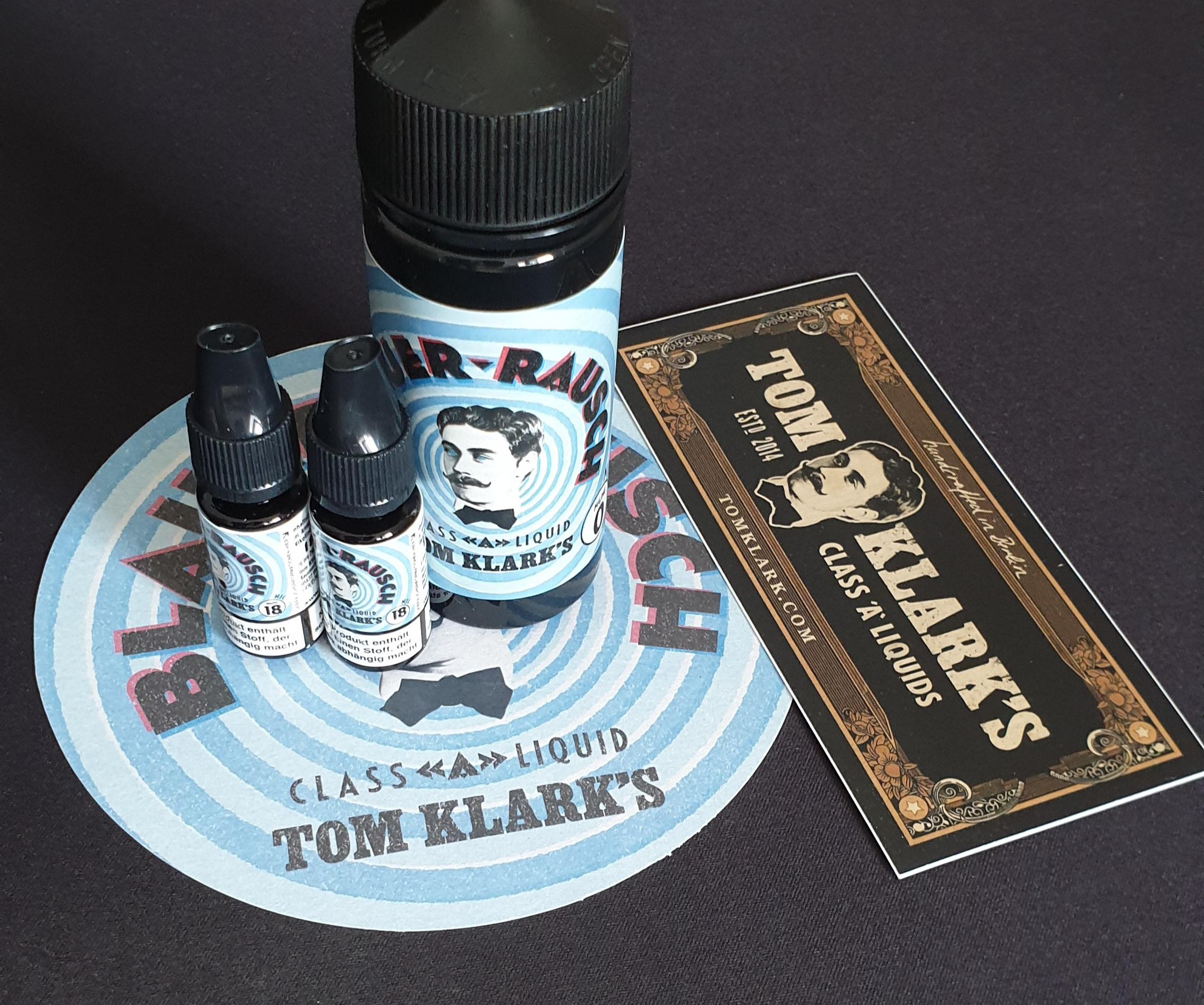 TOM KLARK Blauer Rausch Premium Liquid 120ml 3mg