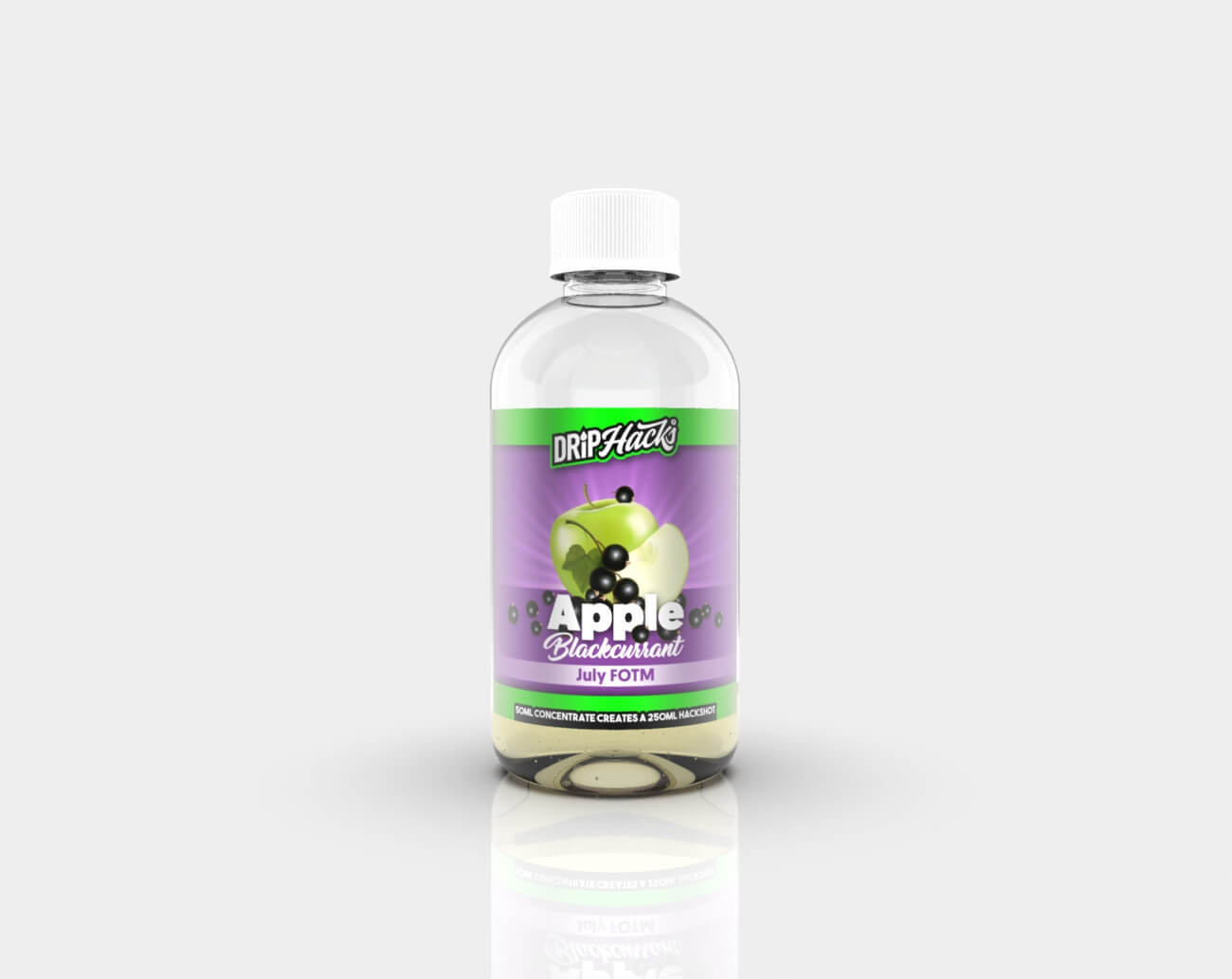 HACKSHOT Apple Blackcurrant by Drip Hacks 250ml