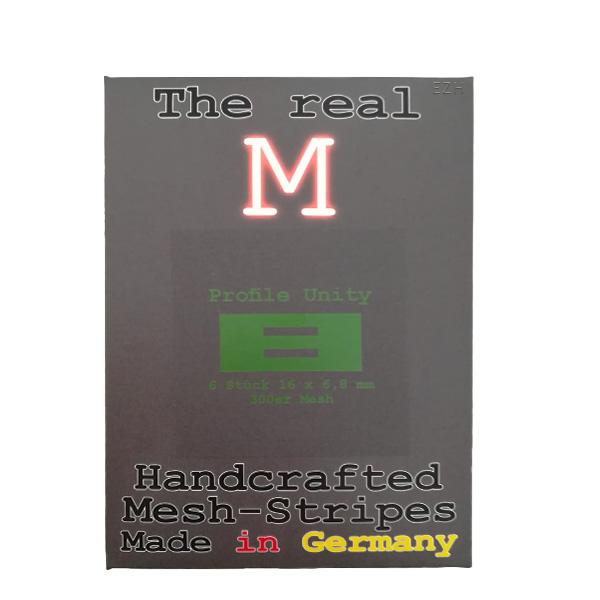 1 x 6 Stück THE REAL M Profile Unity SS316 MESH 300 Coil Wickeldraht