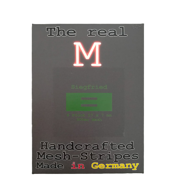 1 x 6 Stück THE REAL M Siegfried SS316 MESH 300 Coil Wickeldraht