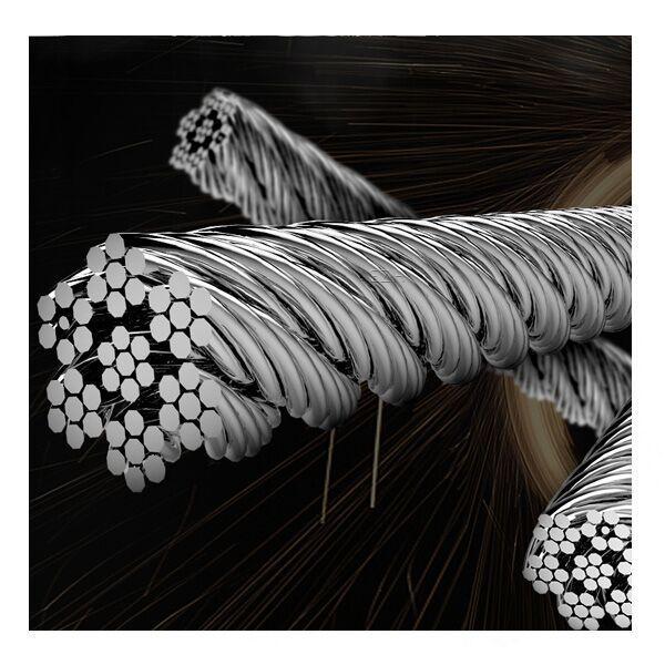 4x Vapefly Brunhilde RTA Steel Wire Ersatzdochte