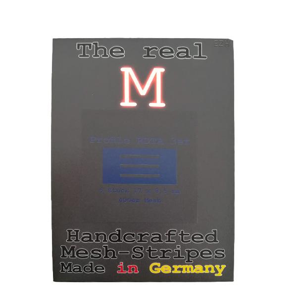 1 x 5 Stück THE REAL M Profile RDTA 3er SS316 MESH 400 Coil Wickeldraht