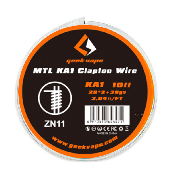 GeekVape 3 Meter KA1 MTL Clapton Wire Draht ZN11