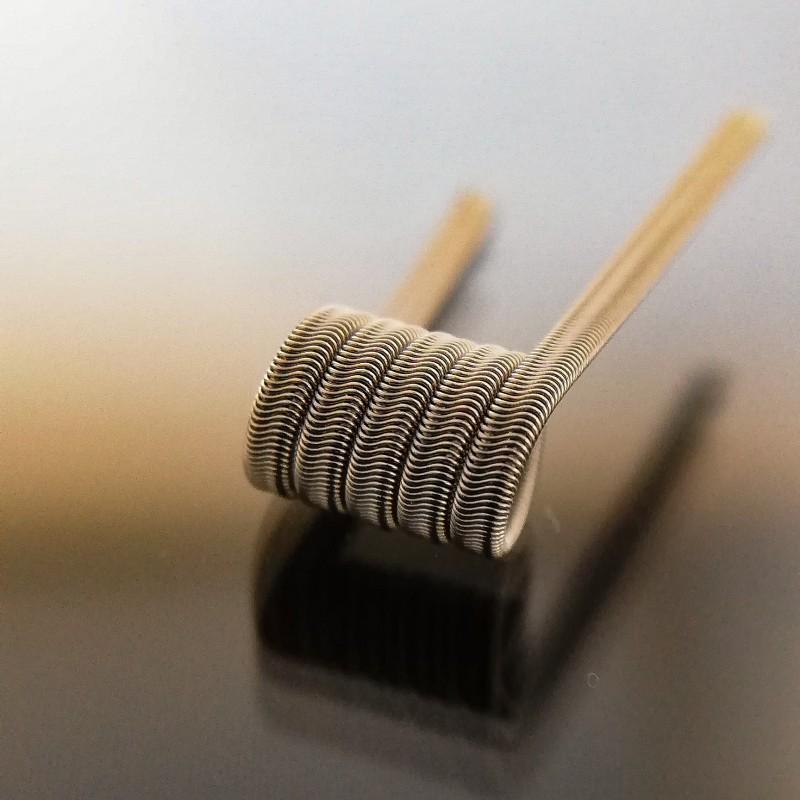 2 x RD Coils Handmade Artemis Alien Coils NI80 0.35 Ohm