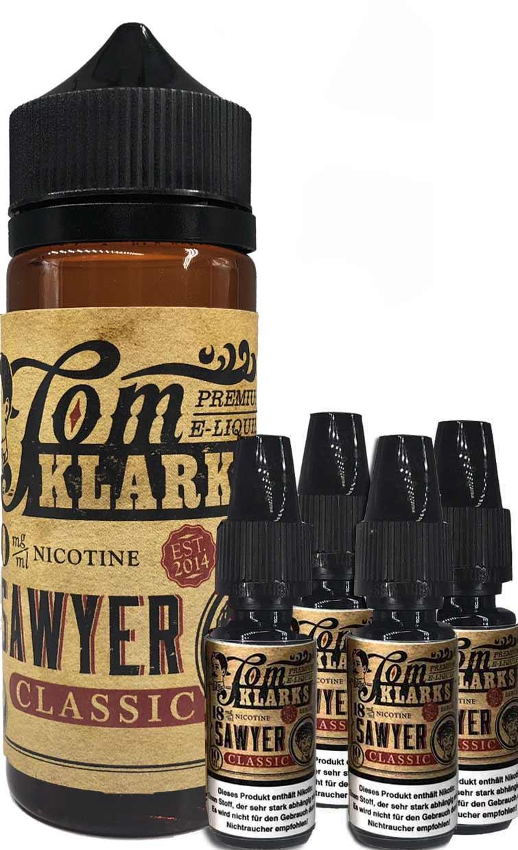 TOM KLARK Klassik ( Classic ) Premium Liquid 120ml 6mg
