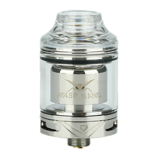 Oumier WASP Nano RTA Selbstwickler Tank Silber