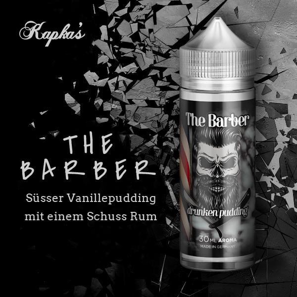 The BARBER by Kapka's Flava Drunken Pudding  Aroma 30ml