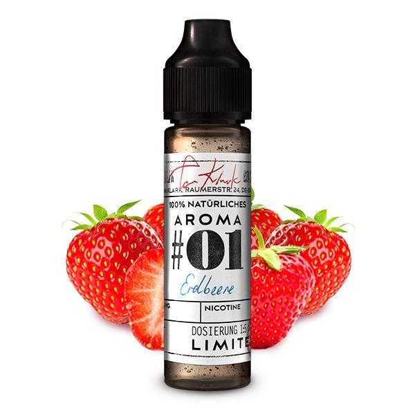 TOM KLARK's Natürliche Aromen No. 1 Erdbeere  Aroma 10ml