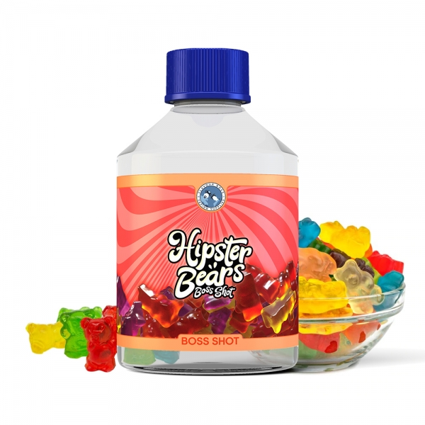 BOSS SHOT Death to Hipster Bears  250ml by Flavour Boss