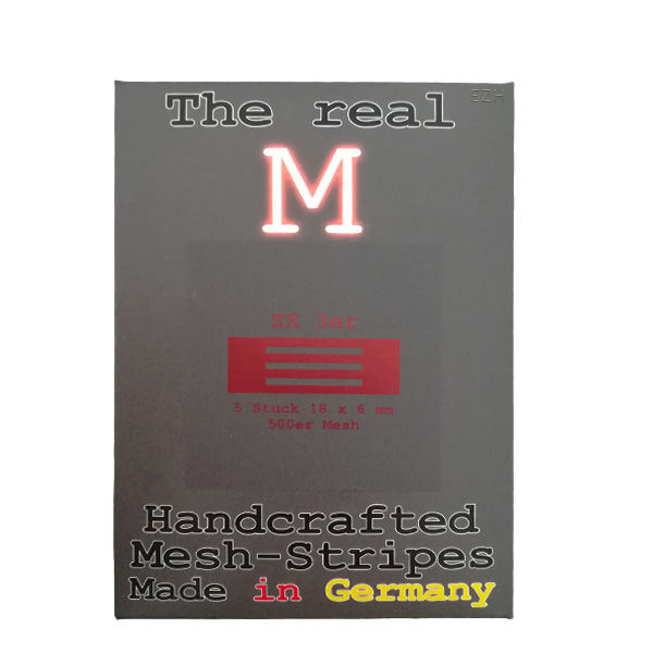 1 x 5 Stück THE REAL M ZX 3er SS316 MESH 500 Coil Wickeldraht