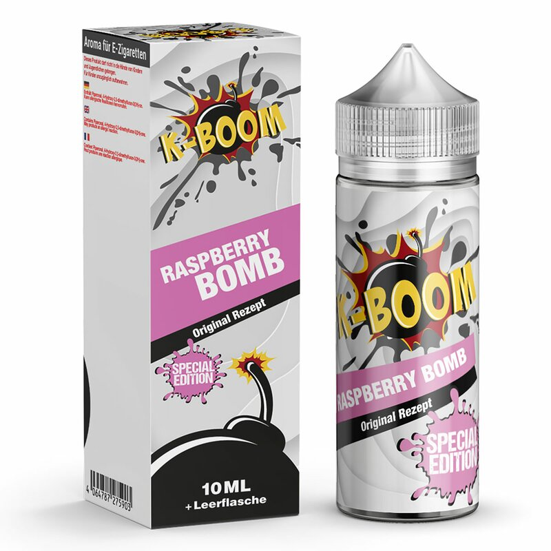 K-Boom Raspberry Bomb Aroma 10ml Longfill  *Original Rezept*