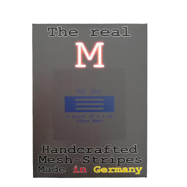 1 x 5 Stück THE REAL M ZX 3er SS316 MESH 400 Coil Wickeldraht