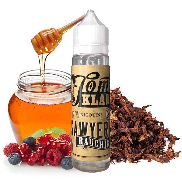 TOM KLARK Rauchig Premium Liquid 60ml 3mg