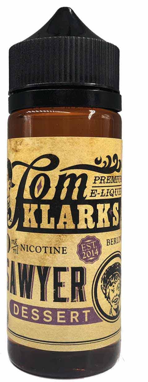 TOM KLARK Dessert Premium Liquid 120ml 0mg ohne Nikotin