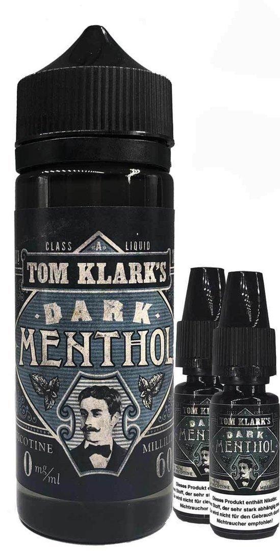 TOM KLARK Dark Menthol Premium Liquid 120ml 3mg