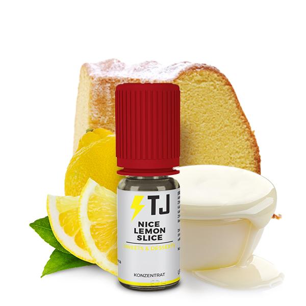T-Juice SWEETS AND DESSERTS Nice Lemon Slice Aroma 10ml *Sonderpreis*