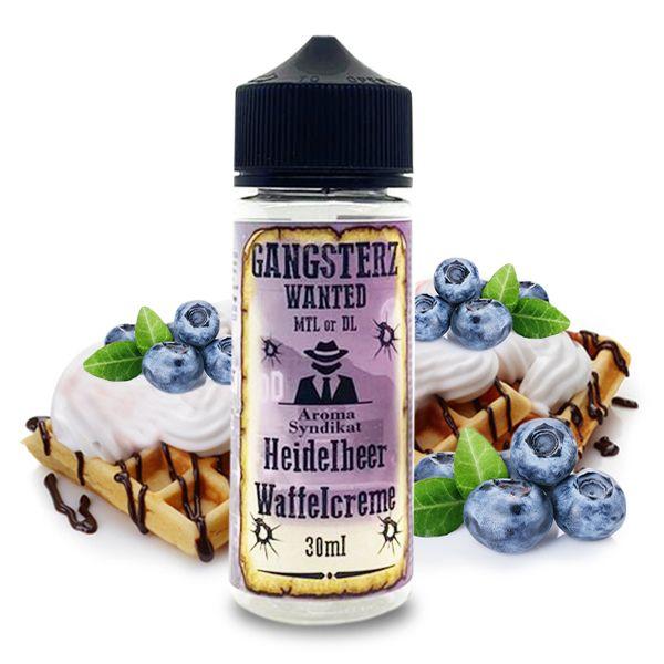 GANGSTERZ Wanted Heidelbeer Waffelcreme Aroma 30ml