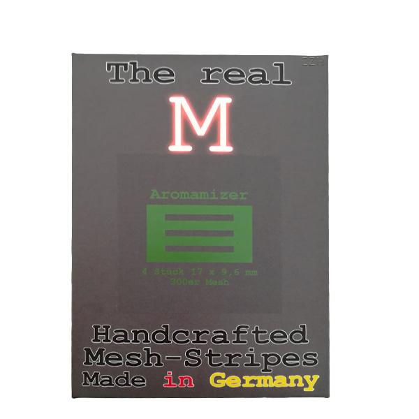 1 x 4 Stück THE REAL M Aromamizer SS316 MESH 300 Coil Wickeldraht