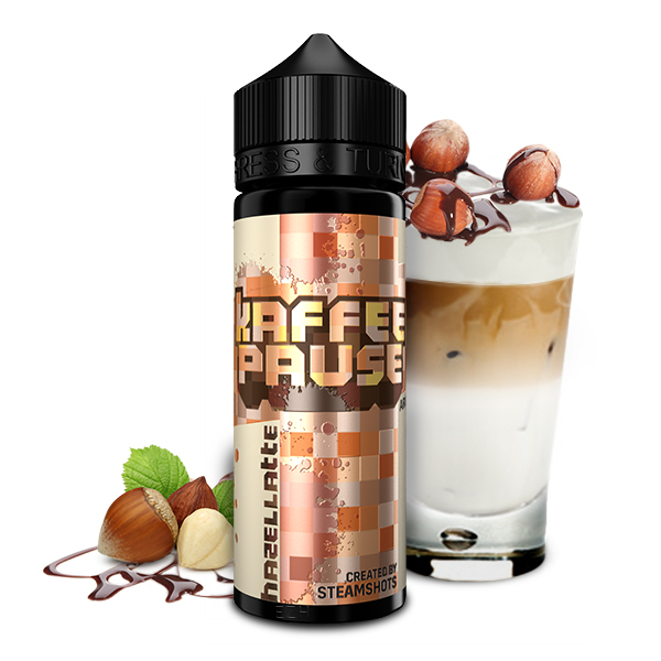 Kaffeepause by Steamshots Hazellatte Aroma 20ml