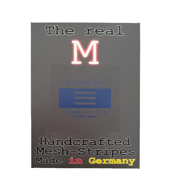 1 x 4 Stück THE REAL M Simurg 3er SS316 MESH 400 Coil Wickeldraht