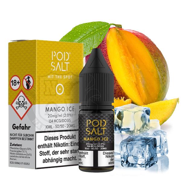 Pod Salt Mango Ice Nikotinsalz (50/50) 11mg 10ml
