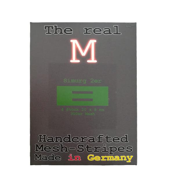 1 x 4 Stück THE REAL M Simurg 2er SS316 MESH 300 Coil Wickeldraht